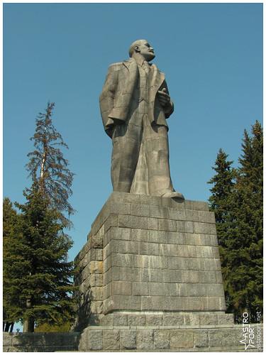 Гігантська статуя Леніна в Дубні, Московська область 08 InterNetri