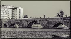ADANA (01dgn) Tags: taşköprü adanataşköprü adana stonebridge oldcity cityscape city historic seyhan river landschaft landscape bw sw sb travel tele sonyilce7