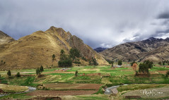 Towards Cuzco (marko.erman) Tags: andes perurail train landscape impressive mountains snowcapped sony travel outside outdoor nature wilde snow clouds green nopeople abralaraya latinamerica southamerica highaltitude agriculture