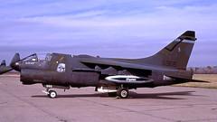 A7 70-0966 1988-05 KCEF LP (Gert-Jan Vis) Tags: 700966 ltv vought a7 a7d corsair2 usaf usairforce kodachrome d112 westoverafb virginia vaang