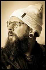 self Portrait (tingel79) Tags: portrait face gesicht mann man bart beard eye auge tingelpixx sony photography photograph people