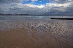 Mumbles Beach (janedoe.notts) Tags: clouds sky water sand beach wales sea seaside seaview seascape olympus omd em10markii 12100