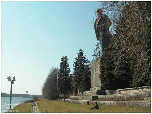 Гігантська статуя Леніна в Дубні, Московська область 12 InterNetri