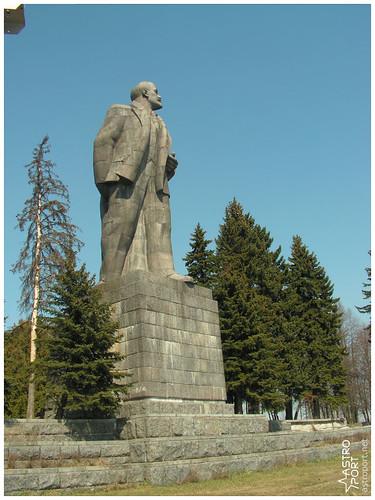 Гігантська статуя Леніна в Дубні, Московська область 07 InterNetri