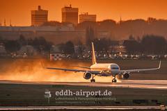 Continental Airlines, N18112 (timo.soyke) Tags: boeing b757 b757200 n18112 continental continentalairlines co ham eddh hamburg hamburgairport plane aircraft takeoff start flugzeug nikon nikond70s d70s