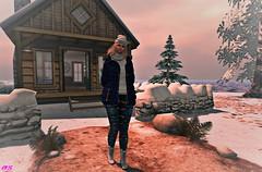 Lovely Day To Walk (alexandra sunny) Tags: haveunequal svp belleevent unik catwa maitreya aviglam sintiklia secondlife fashion female woman blog blogger landscape atapuerca winter snow adorsy