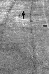 Far away (pascalcolin1) Tags: paris13 homme man way chemin auloin faraway mini photoderue streetview urbanarte noiretblanc blackandwhite photopascalcolin 50mm canon50mm canon