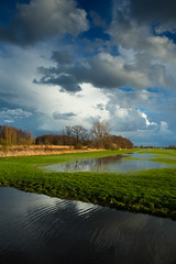 20190317-Canon EOS M5-6926 (Bartek Rozanski) Tags: oudeleede zuidholland netherlands winter dutch holland nederland polder spring cloud water