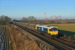 d39010 (15c.co.uk) Tags: class66 66789 6h12 littleheck heckings drax gbrf gbrailfreight largelogo