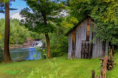 The Ranch (mikederrico69) Tags: rural green countryside farmland farm waterfall water grass house trees summer scenic scenery peaceful tranquil meditation nature leaves sky