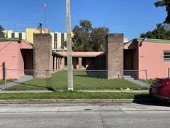 Midcentury Apartment Building Little Havana 1948 (Phillip Pessar) Tags: midcentury apartment building little havana architecture miami mid century 1948