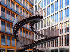 Think Neither Up or Down (yushimoto_02 [christian]) Tags: wendeltreppe treppe staircase stair olafureliasson eliasson umschreibung architektur architecture muenchen münchen munich kpmg