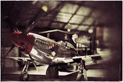 Fighting Donald Duck … (marc.barrot) Tags: london mustang p51d northamerican colindale usaaf rafmuseum 8thairforce grahameparkway 413317 4thfightergroup 336thfightersquadron hendonaerodrome x100f uk vintage fighter aircraft nw9 vfb