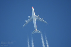 taken from my backyard 089 (planes, space, nature) Tags: china cargo airlines ck205 shanghai amsterdam boeing 747412fscd 36 442 b2428