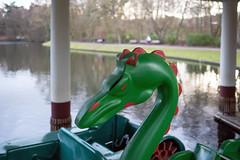 Green Dragon (Bephep2010) Tags: 2019 35mmf14dghsmart 7markiii aachen alpha deutschland drachen germany hangeweiher ilce7m3 nrw northrhinewestphalia sigma sony weiher winter dragon green grün pond ⍺7iii