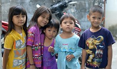 children (the foreign photographer - ฝรั่งถ่) Tags: nov282015nikon five children kids khlong lard phrao portraits bangkhen bangkok thailand nikon d3200