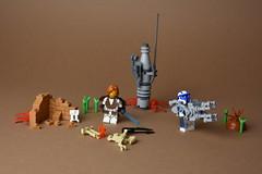 OG Clone Wars (WG Productions) Tags: lego starwars star wars og clone arc heavy trooper moc obi wan kenobi droid lightsaber canon vibrosword arealight customs army