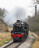 Black Five approaching Haworth IMG-6468 (jmdouble) Tags: blackfive haworth kwvr