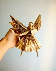 Geistkämpfer (GGIamBatman) Tags: geistkämpfer angel archer origami papiroflexia hoyjo takashi