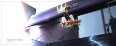 High flying (Flissä) Tags: catwa bento belleza virtual digital boy secondlife avatar longboard freestyle flying