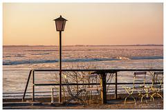 Lieblingsplatz (Onascht) Tags: d750 nikon sunset dslr dangast frost amateurphotographer südfriesland nordsee jadebusen clear water photoart outdoor northsea photoshop photography jade cold art digitalart winter lightroom ice