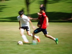 soccer (georgetan_chapter2) Tags: sport exercise outdoor game park people soccer ball panning