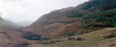 Glen Ogle Viaduct (elkarrde) Tags: c41 colornegativefilm filmisnotdead filmisalive scanner:brand=plustek scanner:model=opticfilm8100 analoguephotography analogphotography filmphotography analogue film plustek opticfilm8100 plustekopticfilm8100 vuescanx6492 landscape landmark nature glen scotland trip roadtrip viaduct bridge glenogle highlands hills clouds trees panorama panoramic horizon horizon202 swinglens swinglenspanoramic camera:format=135 camera:brand=horizon camera:model=202 lens:model=mc2828 lens:format=135 film:format=135 lens:focallength=28mm lens:maxaperture=28 film:name=agfaphotovistaplus200 film:brand=agfa film:brand=agfaphoto film:basesensitivity=200asa film:speed=200asa twop agfa agfaphoto agfaphotovistaplus200 agfavista200 vistaplus mc2828 russian