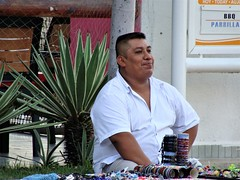 The Salesman (knightbefore_99) Tags: mexico mexican nayarit tropical rincon guayabitos awesome cool best nice sales indio salesman stuff souvenir smile happy native art hombre