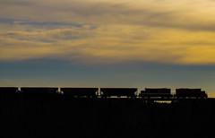 End Of Day On The Cayuga (Joseph Bishop) Tags: osr silhouette emd gp9 tilsonburg trains train track railfan railroad railway rail rails