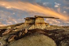 New Mexico Badlands (Eric Zumstein) Tags: bisti bloomfield newmexico unitedstatesofamerica aoi bestcapturesaoi elitegalleryaoi