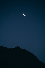 Cochiguaz, Chile (rsoledadvf) Tags: night moon nightphotography cochiguaz chile canon6d landscapephotography southamerica norte sky