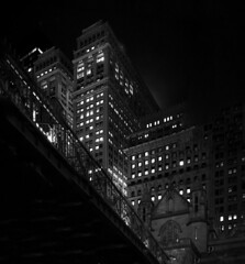 nIGHTS oN bROADWAY 2 (wNG555) Tags: 2015 newyork newyorkcity manhattan bw a6000 sel5018 broadway fav50 fav100 fav25