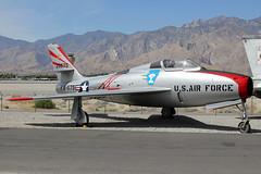 26675 | Republic F-84F Thunderstreak | USAF (Palm Springs Air Museum) (cv880m) Tags: palmsprings psp kpsp airmuseum california aviation aircraft airplane spotting planespotting museum fighter 26675 republic f84 f84f thunderstreak usaf airforce unitedstatesairforce usairforce fs675
