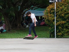 in the air (georgetan_chapter2) Tags: sport exercise outdoor game park people skateboard georgetan