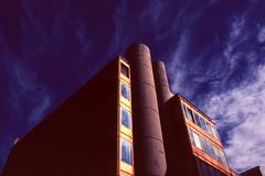 Roman golden hour. (techHouse) Tags: 28mm 35mm pentax roma rome architecture cities film urbanism velvia