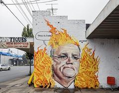 Lush West Footscray 2020-01-06 (5D4_9332) (ajhaysom) Tags: lush climateprotest scottmorrison westfootscray streetart graffiti melbourne australia canoneos5dmkiv canon1635l