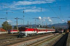 Vrútky (maurizio messa) Tags: nikond7100 slovensko slowakei slovacchia zilinsky čkd 757 754 žoszvolen zr1846 os7528 mau bahn ferrovia treni trains railway railroad