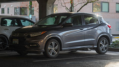 2019 Honda HR-V (mlokren) Tags: 2020 car spotting photo photography photos pic picture pics pictures pacific northwest pnw pacnw oregon usa vehicle vehicles vehicular automobile automobiles automotive transportation outdoor outdoors honda hrv cuv crossover suv gray