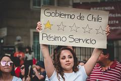 La marcha mas grande de Chile (rsoledadvf) Tags: chile streetphotography lightroom santiagodechile plazadeladignidad protest