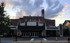 Paramount Theatre (John Coursey) Tags: architecture artdeco art architectural cinema downtown deco ejcoursey film historic id marquee mainstreet movies neon ny newyork middletown perfomance paramount retro streamline theater theatre urban uptown usa