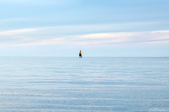 im sailing away (annedphotography1) Tags: sailboat lake sky water minimalism summer outdoorphogotgraphy sailing blue