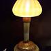 mushroom night light - Tiffany Studios