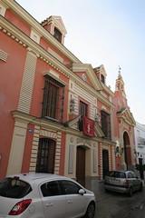 Capilla de la Santa Vera Cruz - Fachada (albTotxo) Tags: olivares sevilla andalucía españa
