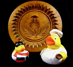 why, laddie, it's a shortbread mould!! (muffett68 ☺ heidi ☺) Tags: textures adad aduckaday day165 shortbread mold mould baking duckies nationalshortbreadday shortbreadday 120picturesin2020 4 antique
