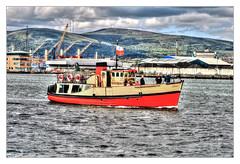 Belfast NIR - The Lagan Boat Company (Daniel Mennerich) Tags: laganboatcompany belfast harbour tours titanicquarter titanicharbourboattours