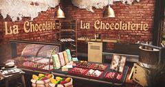 La Chocolaterie (desiredarkrose) Tags: kalopsia kalopsiasl chocolate thefoodcourt food sweet secondlife sl slblog decorationidea decor sldecor 8f8