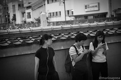 Curiosity (Mario Aprea) Tags: giappone japan kyoto marioaprea people person street portrait blackandwhite bw