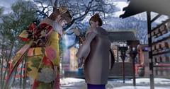 ほらいくよ~wねぇ、待ってよ~ (Miyabi Harucus 1102) Tags: friend fashion kawaii kimono maitreya monso catwa genus shrine tonarinosim
