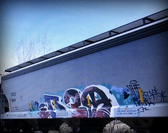 D30 (timetomakethepasta) Tags: d30 freight train graffiti art utcx hopper