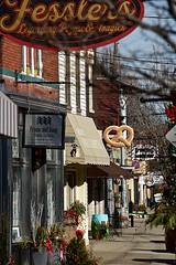 Bellevue, Kentucky (durand clark) Tags: bellevuekentucky northernkentucky fairfieldavenuebellevue kentucky campbellcounty pretzel nikond750 businessdistrict shoppingdistrict